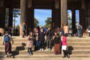東大寺で青年部と学林生